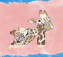 Giraffe Love by Danielle Keltner
