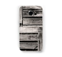 weathered shed Samsung Galaxy Case/Skin