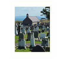 St Tudnos, Llandudno, Wales Art Print