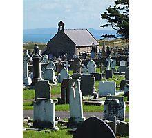 St Tudnos, Llandudno, Wales Photographic Print
