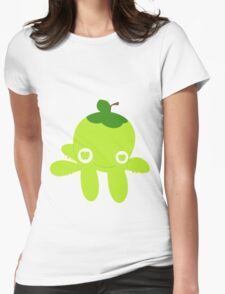 Green Apple Octopus Womens Fitted T-Shirt