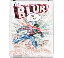 Smallville's Red Blue Blur! iPad Case/Skin