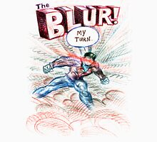 Smallville's Red Blue Blur! Men's Baseball ¾ T-Shirt