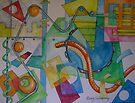 Abstract Movement 1 by nancy salamouny