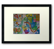 Abstract Movement 1 Framed Print
