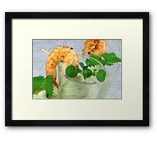 Avocado Dip Dip Framed Print