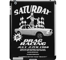 Saturday Night Drags iPad Case/Skin