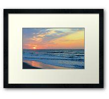 Sunrise 6 Framed Print