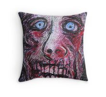 Bloody-Face Throw Pillow