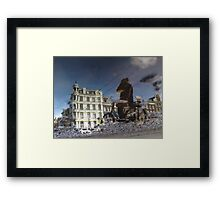 Reflections of Amsterdam - Leaving me behind Framed Print