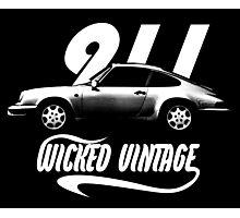 1985 Porsche 911 Photographic Print