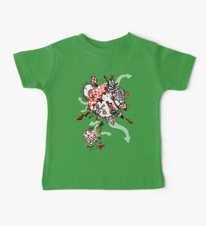 Red Carbon Sands Kids Clothes