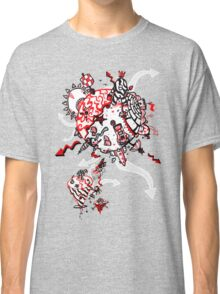 Red Carbon Sands Classic T-Shirt