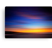 Speed Sunrise Canvas Print