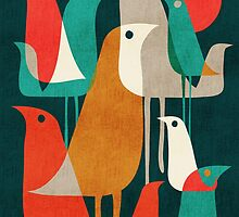 Flock of birds by Budi Kwan