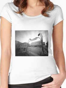 building eye Women's Fitted Scoop T-Shirt