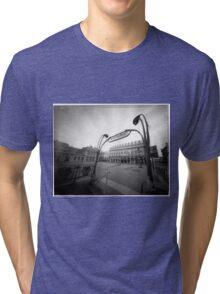 building eye Tri-blend T-Shirt