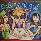 Girls Night Out by nancy salamouny