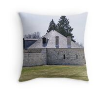 Lower Fort Garry, Manitoba, Canada Throw Pillow