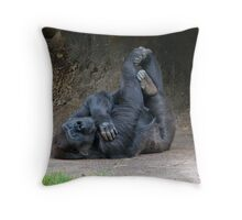 Twisted Limbs Throw Pillow
