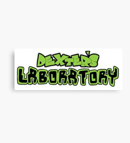 Dexter's Laboratory Canvas Print