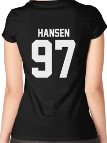 #FIFTHHARMONY, Dinah Jane Hansen Women's Fitted Scoop T-Shirt