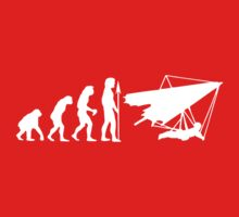 Evolution Of Hang Gliding One Piece - Short Sleeve