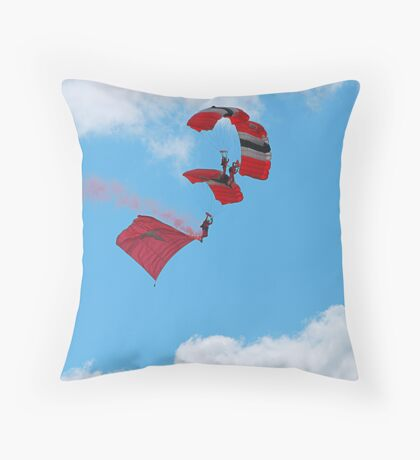 RAF Falcons Throw Pillow
