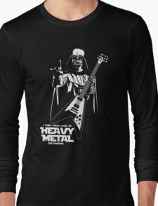 Funny Darth Vader Heavy Metal Long Sleeve T-Shirt