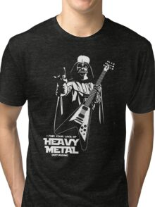 Funny Darth Vader Heavy Metal Tri-blend T-Shirt