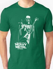 Funny Darth Vader Heavy Metal T-Shirt