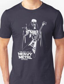 Funny Darth Vader Heavy Metal T-Shirt