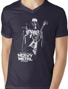Funny Darth Vader Heavy Metal Mens V-Neck T-Shirt