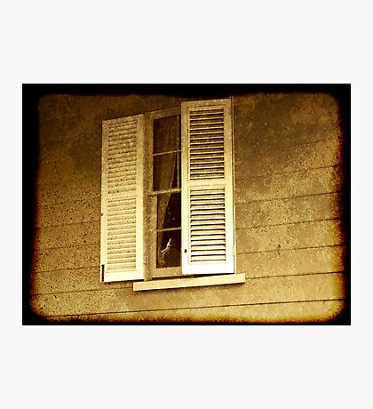 ghostly shutters Photographic Print