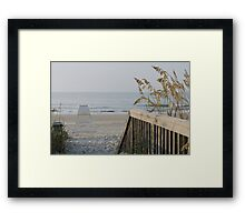 The Faded Days Of Summer Framed Print