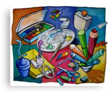 Art Table 2 Canvas Print