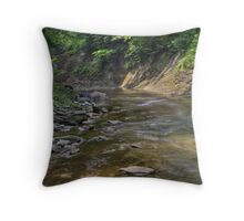 Clifty Creek #2 Throw Pillow