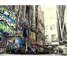 If these walls could talk... Photographic Print