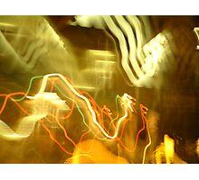 Bendy Lights Photographic Print