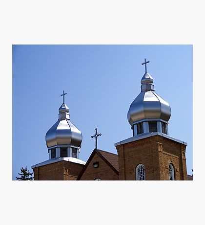 Ukrainian Church Photographic Print