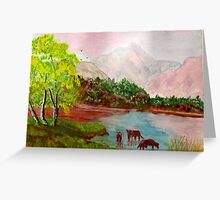 Lakeland View Greeting Card