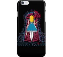 Spinning Wonderland iPhone Case/Skin