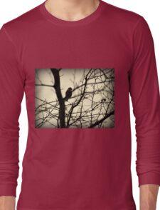 Bird in a Thorny Tree Long Sleeve T-Shirt