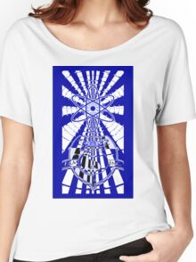 Solar For All (Blue Variant) Women's Relaxed Fit T-Shirt