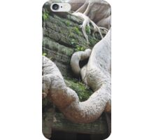 Roots Gone Wild, Ta Prohm, Angkor, Cambodia iPhone Case/Skin
