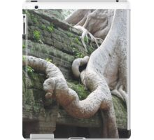 Roots Gone Wild, Ta Prohm, Angkor, Cambodia iPad Case/Skin