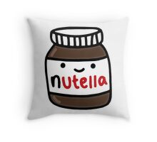 Nutella Cute Throw Pillow