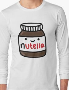 Nutella Cute Long Sleeve T-Shirt