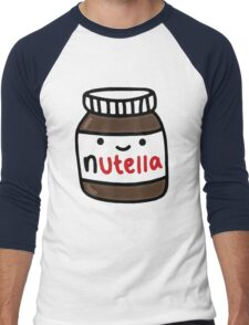 Nutella Cute Men's Baseball ¾ T-Shirt