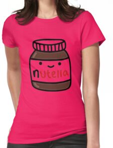 Nutella Cute Womens Fitted T-Shirt